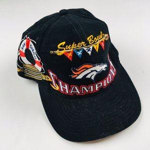 1998 Denver Broncos Super Bowl Snap Back Hat